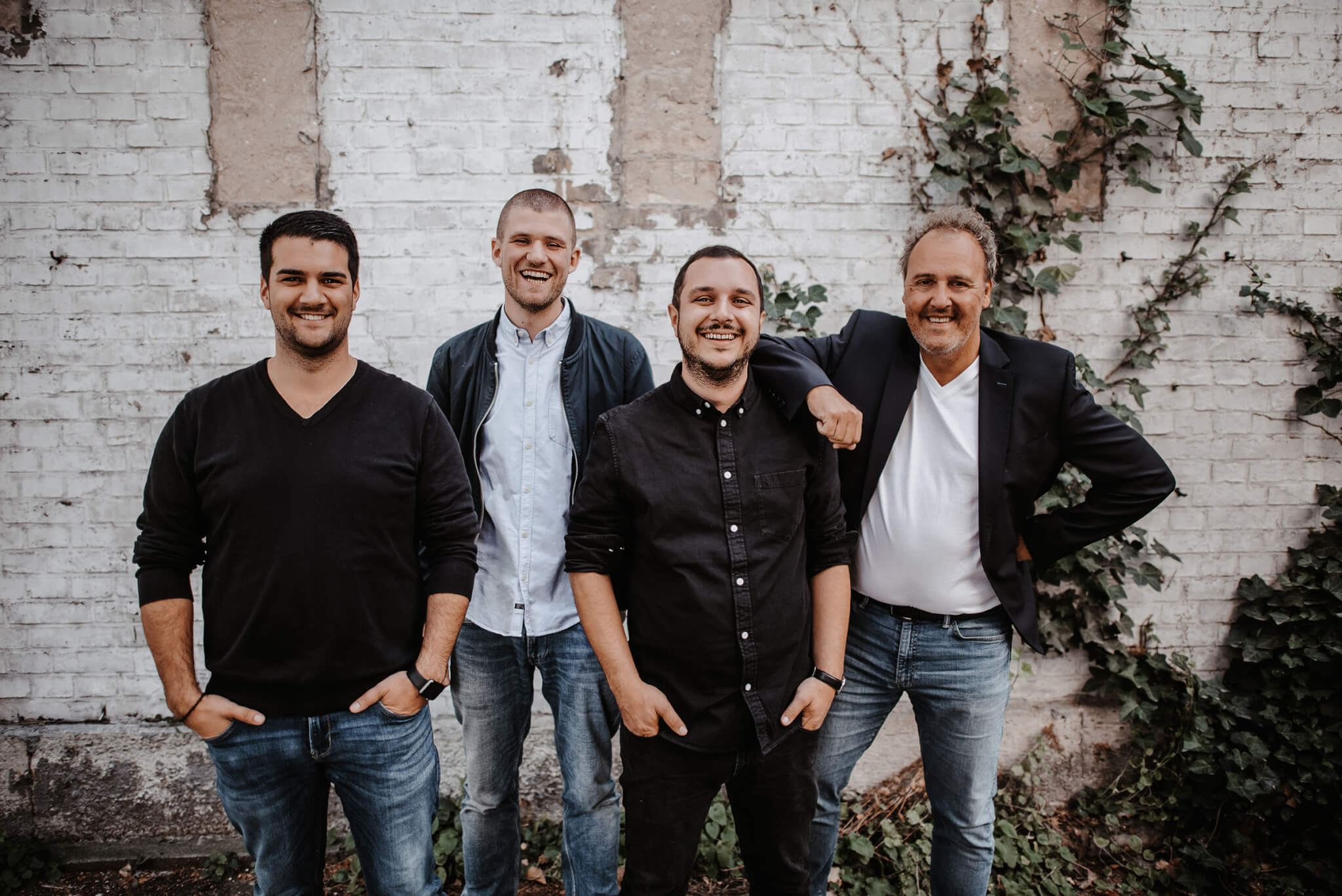 Timo Tchoulah, Paul Rittmeyer, Babak Khosrawi-Rad, York Schlüter