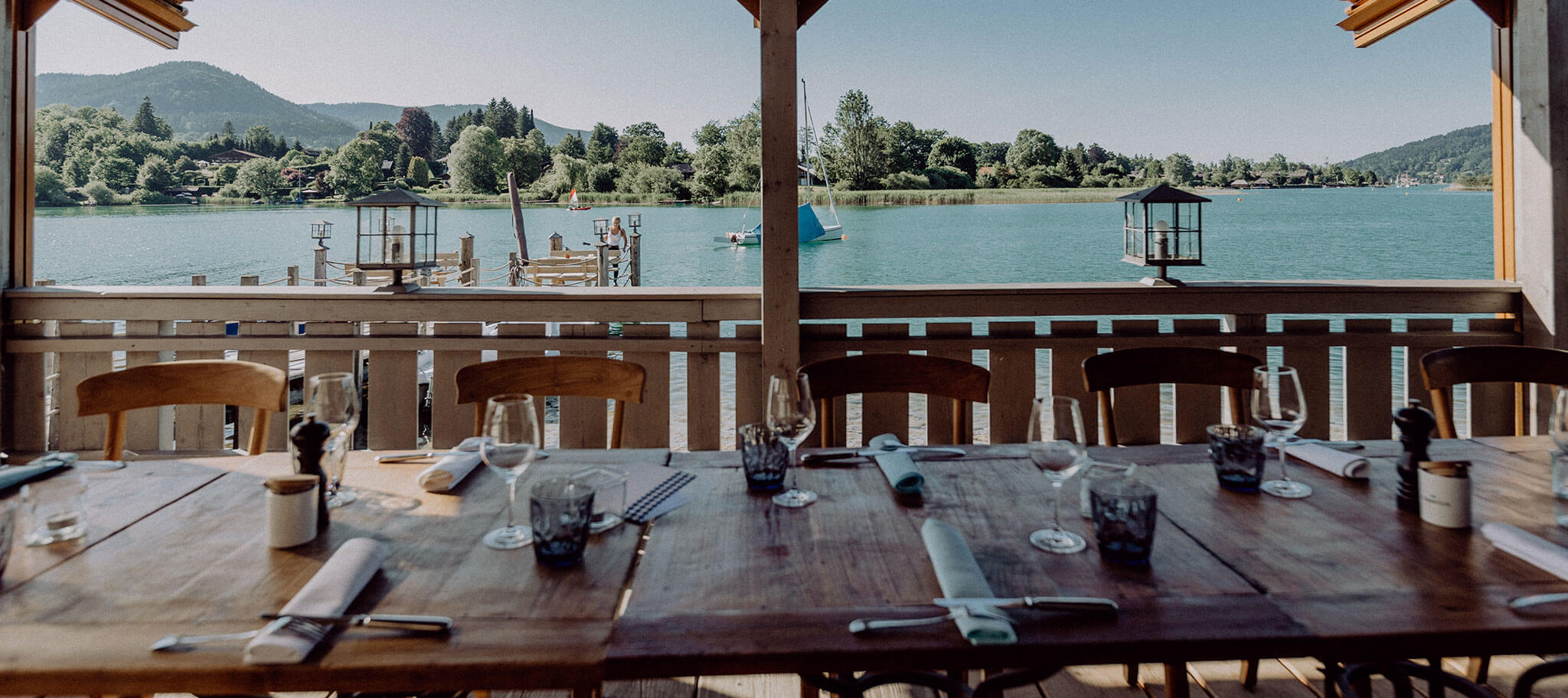 Dinner Location bei Incentive am Tegernsee