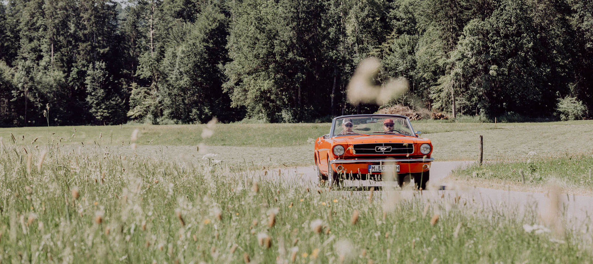 Oldtimer Rallye bei Incentive an Tegernsee