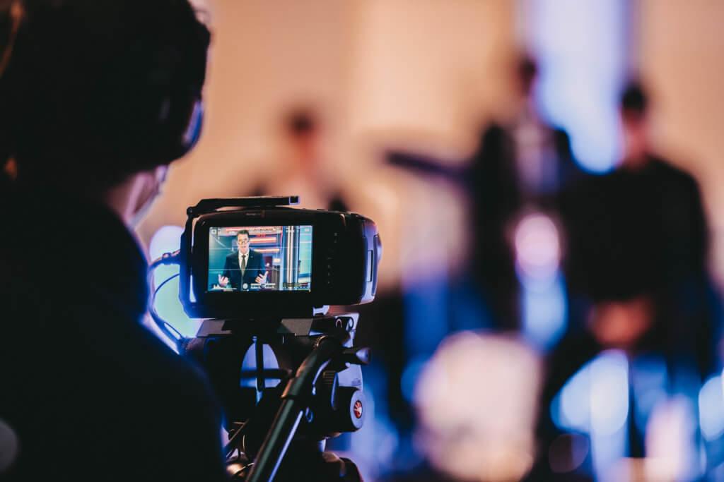 Kameraführung bei digitalen Events